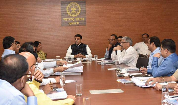 The third meeting of the Nagpur Metropolitan Region Development Authority Under the chairmanship of Hon.CM Shri. Devendra Fadnavis